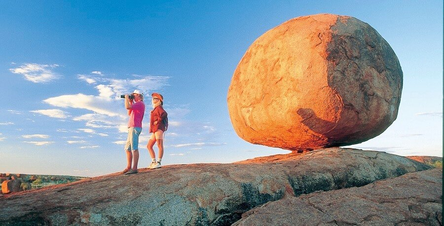 Darwin Tours to Alice Springs Devils Marbles