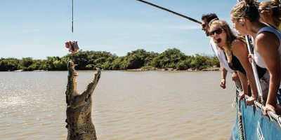 Jumping Crocodile Cruise from Darwin $115