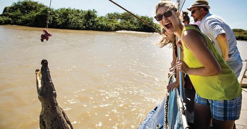 Morning Jumping Crocodile Cruise from Darwin